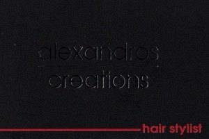 ALEXANDROS CREATIONS (ΝΙΚΟΛΟΠΟΥΛΟΣ ΑΛΕΞΑΝΔΡΟΣ)