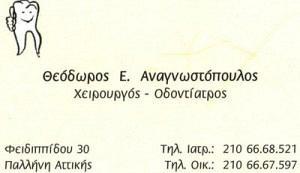 ΑΝΑΓΝΩΣΤΟΠΟΥΛΟΣ ΘΕΟΔΩΡΟΣ