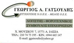 ΓΑΤΣΟΥΛΗΣ ΘΕΟΔΟΣΙΟΣ