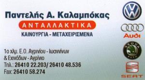 ΚΑΛΑΜΠΟΚΑΣ ΠΑΝΤΕΛΕΗΜΩΝ