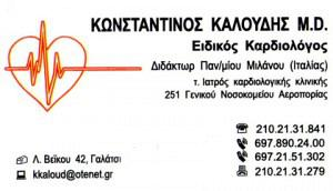 ΚΑΛΟΥΔΗΣ ΚΩΝΣΤΑΝΤΙΝΟΣ