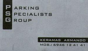 PARKING SPECIALISTS GROUP (PSG)