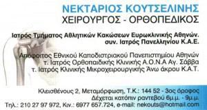ΚΟΥΤΣΕΛΙΝΗΣ ΝΕΚΤΑΡΙΟΣ