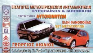 ΛΙΟΛΙΟΣ ΓΕΩΡΓΙΟΣ