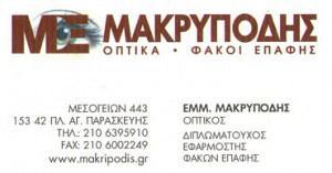 ΜΑΚΡΥΠΟΔΗΣ ΕΜΜΑΝΟΥΗΛ