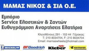 ΜΑΜΑΣ ΝΙΚΟΣ & ΣΙΑ ΟΕ