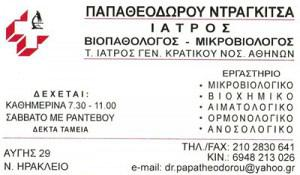 ΠΑΠΑΘΕΟΔΩΡΟΥ ΝΤΡΑΚΙΤΣΑ