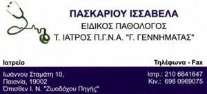 ΠΑΣΚΑΡΙΟΥ ΙΣΣΑΒΕΛΑ