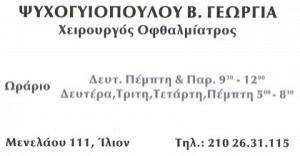 ΨΥΧΟΓΥΙΟΠΟΥΛΟΥ ΓΕΩΡΓΙΑ