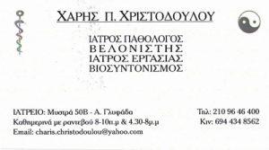 ΧΡΙΣΤΟΔΟΥΛΟΥ ΧΑΡΗΣ