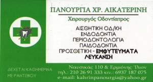 ΠΑΝΟΥΡΓΙΑ ΑΙΚΑΤΕΡΙΝΗ