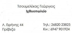 ΤΣΟΥΜΕΛΕΚΑΣ ΓΕΩΡΓΙΟΣ