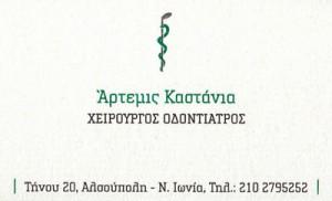 ΚΑΣΤΑΝΙΑ ΑΡΤΕΜΙΣ