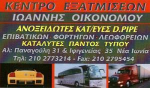 ΚΕΝΤΡΟ ΕΞΑΤΜΙΣΕΩΝ (ΟΙΚΟΝΟΜΟΥ ΙΩΑΝΝΗΣ)
