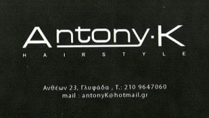 ANTONY K