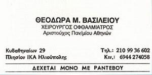 ΒΑΣΙΛΕΙΟΥ ΘΕΟΔΩΡΑ