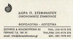 ΣΤΕΦΑΝΑΤΟΥ ΘΕΟΔΩΡΑ