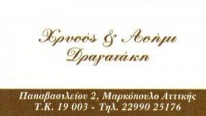 ΧΡΥΣΟΣ & ΑΣΗΜΙ (ΔΡΑΓΑΤΑΚΗ ΜΑΡΙΑ & ΣΙΑ ΟΕ)