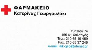ΓΕΩΡΓΟΥΛΑΚΗ ΑΙΚΑΤΕΡΙΝΗ