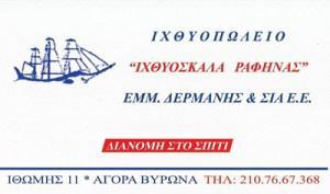 ΙΧΘΥΟΣΚΑΛΑ ΡΑΦΗΝΑΣ (ΔΕΡΜΑΝΗΣ ΕΜΜ & ΣΙΑ)