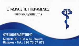 ΠΙΚΡΑΜΕΝΟΣ ΣΤΑΣΙΝΟΣ