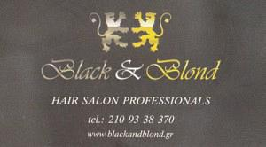 BLACK & BLOND
