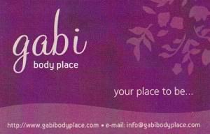 GABI BODY PLACE (ΓΑΒΡΙΗΛΙΔΗΣ ΔΗΜΗΤΡΙΟΣ)
