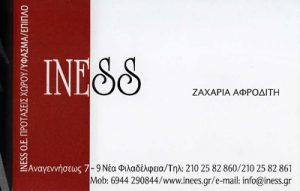 INESS (ΚΑΝΕΛΛΟΠΟΥΛΟΥ Α & ΖΑΧΑΡΙΑ Α ΟΕ)