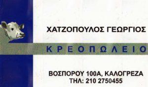 ΓΕΩΡΓΙΟΣ ΧΑΤΖΟΠΟΥΛΟΣ