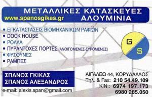 GS SPANOS GIKAS (ΣΠΑΝΟΣ ΓΚΙΚΑΣ)