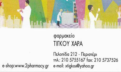 376888791c9 ΤΙΓΚΟΥ ΧΑΡΑΛΑΜΠΙΑ — Υγεία - Ιατροί Φαρμακεία — ΠΕΡΙΣΤΕΡΙ ...