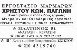 ΠΑΓΩΝΗΣ ΧΡΗΣΤΟΣ