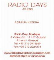 RADIO DAYS (ΚΑΤΕΡΑ ΑΣΗΜΙΝΑ)