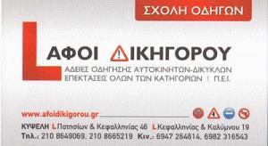 ΔΙΚΗΓΟΡΟΣ ΝΙΚΟΛΑΟΣ