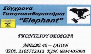 ELEPHANT (ΓΚΟΝΤΖΙΟΥ ΘΕΟΔΩΡΑ)