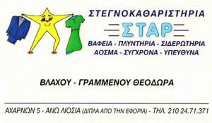 STAR (ΓΡΑΜΜΕΝΟΥ ΘΕΟΔΩΡΑ)
