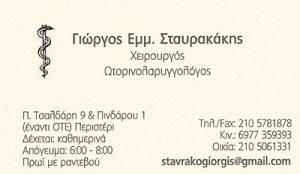 ΣΤΑΥΡΑΚΑΚΗΣ ΓΕΩΡΓΙΟΣ