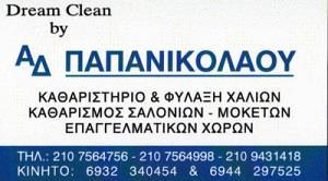DREAM CLEAN (ΠΑΠΑΝΙΚΟΛΑΟΥ ΔΗΜΗΤΡΑ)