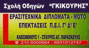 ΝΙΚΗΤΑΣ ΓΚΙΚΟΥΡΗΣ
