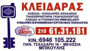 ΜΠΙΚΟΥΛΗΣ ΜΙΧΑΗΛ & ΠΑΝΑΓΙΩΤΗΣ