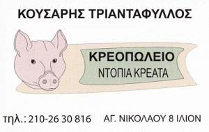 ΚΟΥΣΑΡΗΣ ΤΡΙΑΝΤΑΦΥΛΛΟΣ