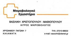 ΧΡΙΣΤΟΠΟΥΛΟΥ ΒΑΣΙΛΙΚΗ