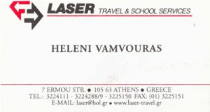 LASER TRAVEL & SCHOOL SERVICES