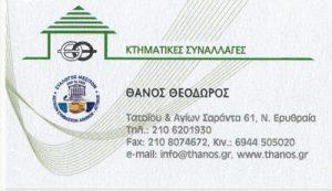 ΘΑΝΟΣ ΘΕΟΔΩΡΟΣ & ΣΥΝΕΡΓΑΤΕΣ