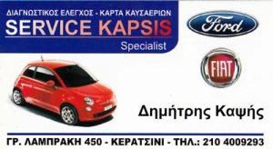 KAPSIS SERVICE (ΚΑΨΗΣ ΔΗΜΗΤΡΙΟΣ)