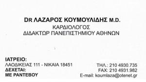 ΚΟΥΜΟΥΛΙΔΗΣ ΛΑΖΑΡΟΣ