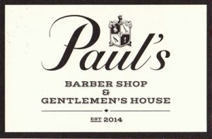 PAUL'S BARBER SHOP & GENTLEMEN'S HOUSE