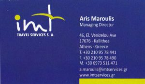 IMT TRAVEL SERVICES SA