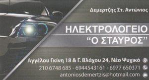 ΔΕΜΕΡΤΖΗΣ ΑΝΤΩΝΗΣ
