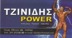 TZINIDIS POWER (ΤΖΙΝΙΔΗΣ ΕΜΜΑΝΟΥΗΛ)